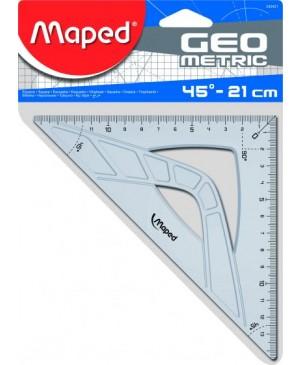 Trikampis Maped Geometric 45°, 21cm įžambinė