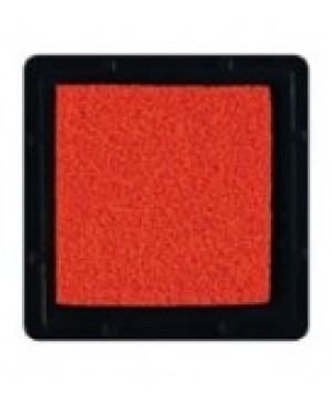 Rašalo pagalvėlė 3x3cm, 02 oranžinė