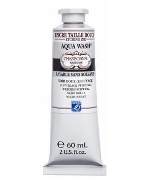 Spaudos dažai Charbonnel Aqua Wash 60ml Soft Black