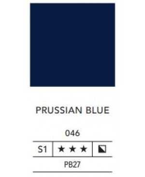 Aliejiniai dažai LB Fine 40ml 046 prussian blue
