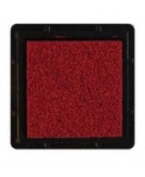 Rašalo pagalvėlė 3x3cm, 04 raudonai ruda