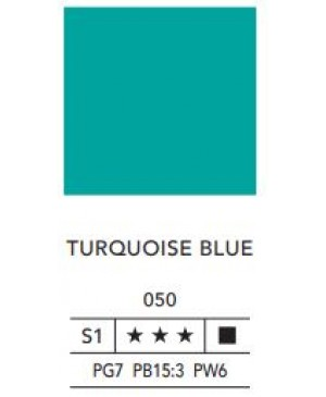 Aliejiniai dažai LB Fine 40ml 050 turquoise blue