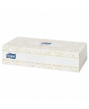 Vienkartinės nosinaitės Tork Premium Facial Tissue F1, dviejų sluoksnių, 100vnt dėžutėje