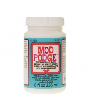 Mod Podge Dishwasher-safe Gloss mediumas, 236ml