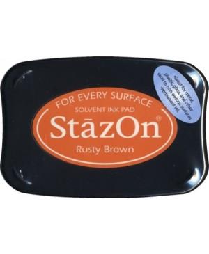Permanentinė rašalo pagalvėlė StazOn Rusty Brown