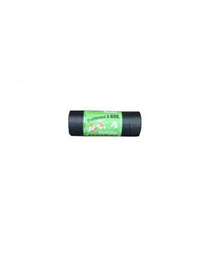 Maišai šiukšlėms LDPE Patikimi 140 l , 10vnt rulonėlyje