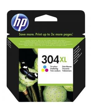 Kasetė HP 304 XL spalvota, nauja originali, didelės talpos