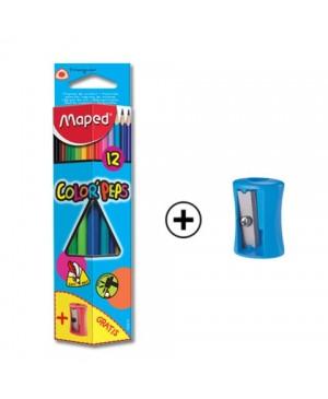 Spalvoti pieštukai Maped Color Peps 12 spalvų
