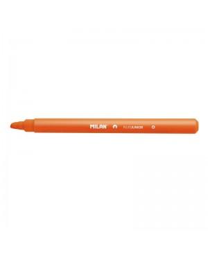 Teksto žymeklis Milan Fluo Junior, kirstu galiuku, 1-4mm, oranžinės sp.