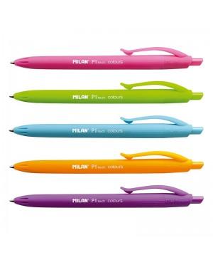Automatinis tušinukas Milan P1 Touch Colours, 1mm, oranžinės sp.