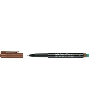 Žymeklis Faber-Castell Multimark 1523, S, 0,4mm, rudas