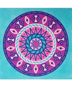 Eskizas smėlio tapybai 38x46cm, Mandala 9