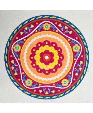 Eskizas smėlio tapybai 38x46cm, Mandala 11