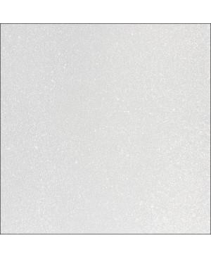 Skrebinimo popierius su blizgučiais 30,5x30,5cm 200 g/m², baltas