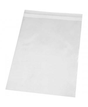 PP maišelis pakavimui su nuplėšiama lipnia juostele 180x250mm, 25mkr, 200 vnt.