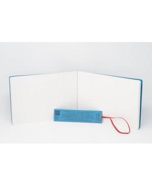 Siūta akvarelės ir užrašų knygutė, 245x176mm, 280gsm, 12 lapų, akvarelinio popieriaus, su skirtuku