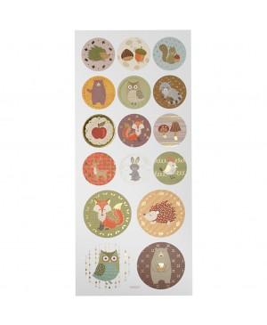Lipdukai Miško gyvūnai, 10x23cm