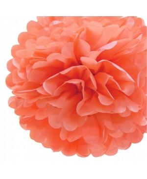 Tissue šilko popierius 30vnt, koralo oranžinė 50x70cm (sp 20)