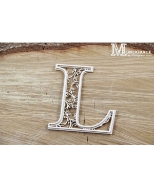 Kartono formelė - Monograce inicialas L, 1 vnt.