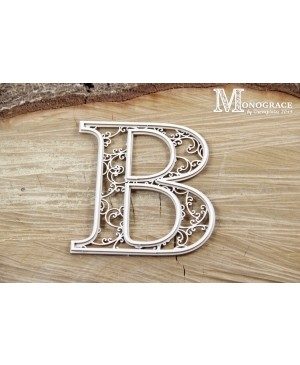 Kartono formelė - Monograce inicialas B, 1 vnt.