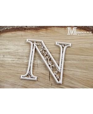 Kartono formelė - Monograce inicialas N, 1 vnt.