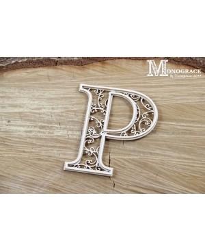 Kartono formelė - Monograce inicialas P, 1 vnt.