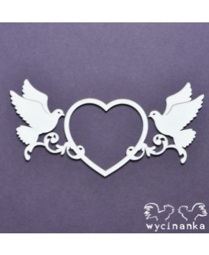 Kartono formelė Beautiful Wedding Heart