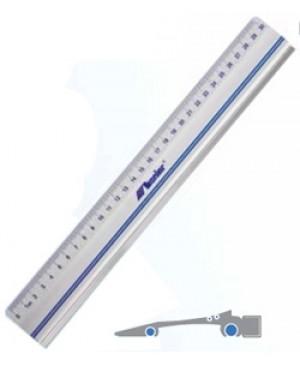 Liniuotė, 30 cm, aliuminis