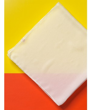 Šilko skarelė Chiffon 3.5, balta 90x90cm