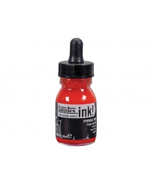 Akrilinis tušas Liquitex 30ml 321 pyrrole red