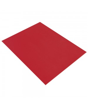 Putgumės lakštas 20x30cm, 2mm storio, raudona 18