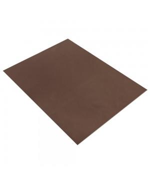 Putgumės lakštas 30x40cm, 2mm, tamsi ruda