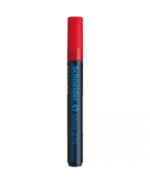 Žymeklis Schneider Maxx 270 B, 1-3 mm,  raudonas
