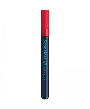 Žymeklis Schneider Maxx 271 M, 1-2 mm, raudonas