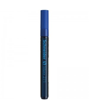 Žymeklis Schneider Maxx 271 M, 1-2 mm, mėlynas