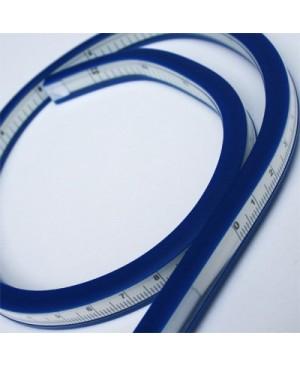 Liniuotė lanksti su gradacija, 40cm