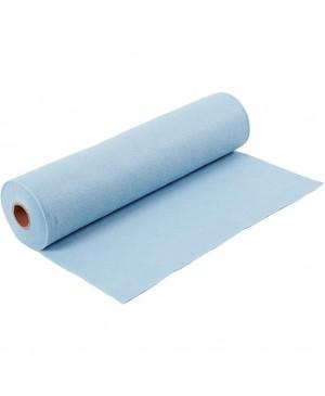 Sintetinis veltinis - filcas 1,5 mm storio, 45 cm pločio, 1 m, šviesiai mėlynos sp.