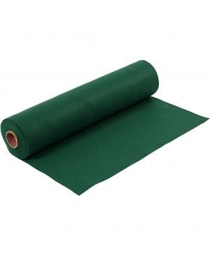 Sintetinis veltinis - filcas 1,5 mm storio, 45 cm pločio, 1 m, tamsiai žalios sp.
