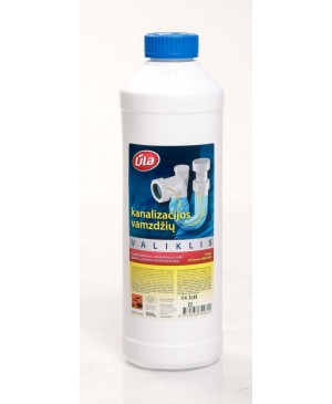 Kanalizacijos vamzdžių valiklis Ūla, 1000 ml