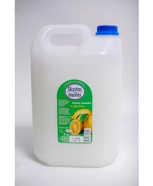 Skystas muilas su glicerinu citrinų kvapo, 5 l