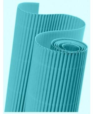 Gofruotas kartonas  50x70cm (47), šviesiai mėlynos sp.
