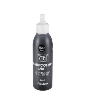 Papildymas rašikliui KURECOLOR REFILL INK KCR-25-900 black, 25ml
