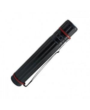 Dėklas brėžiniams, tūba 50-80cm, diametras 105mm, juodas