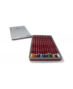 Pastelinių pieštukų rinkinys Derwent, 12 vnt.