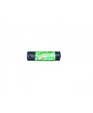 Maišai šiukšlėms LDPE Patikimi 50 l , 10vnt rulonėlyje