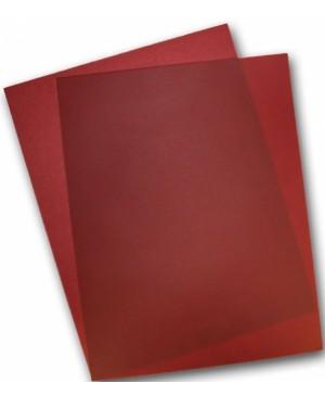 Spalvotas permatomas popierius Curious Translucent, Red Lacquer, 100 g/m², A4, 1 lapas