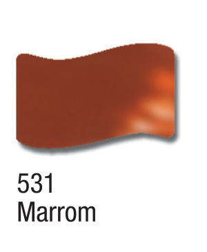 Dažai stiklui Vitral 37ml, 531 brown