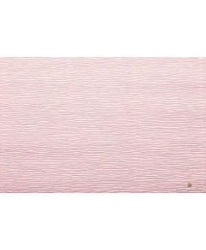 Krepinis popierius 50 cm x 2,5 m, 180 g/m², šviesiai rožinė (548) - camelia pink