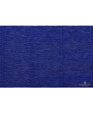 Krepinis popierius 50 cm x 2,5 m, 180 g/m², tamsiai mėlyna (555)