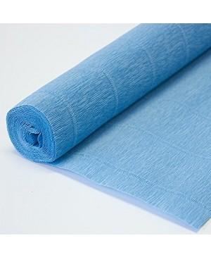 Krepinis popierius 50 cm x 2,5 m, 180 g/m², mėlyna (556)